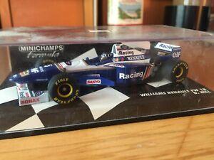 MINICHAMPS WILLIAMS FW18 DAMON HILL CAR 1/43 MODEL CAR