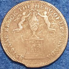 1816 Sir Isaac Brock Monument Token   ID #A9-4