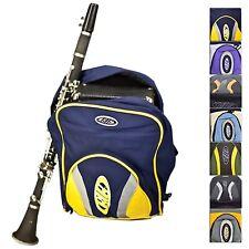 More details for clarinet gig bag - padded backpack soft case rucksack with shoulder straps --