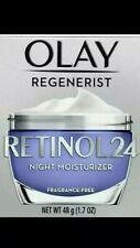 Olay Regenerist Retinol 24 Night Moisturizer (Fragrance-Free)1.7 NEW -RECEIPT!!