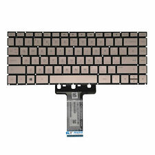 More details for new hp pavilion 14-bk series rose gold uk qwerty keyboard 938097-031 replacement