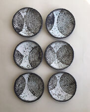 Little Dish Sushi Plate Rustic Gray Black Studio Pottery Farmhouse Country House