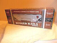MTH Rugged Rail Rail King Pennsylvania 3-Bay Covered Hopper Car 33-7501