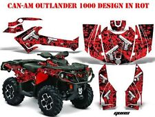 Amr racing decoración kit ATV Can-Am Outlander std & xmr/Max Graphic kit Guns glock B