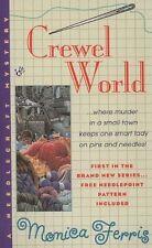 Crewel World (Needlecraft Mystery)-ExLibrary