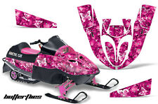 AMR RACING SNOWMOBILE DECAL SLED STICKER KIT ARCTIC CAT 120 SNO-PRO YOUTH PINK