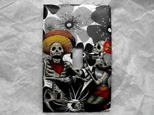 Day of the Dead Decorated Single Light Switch Plate Cover Day of the Dead