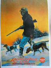Remington Firearms & Ammunition Advertising poster UMC-Co.