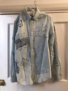 Ralph Lauren Boys Shirt Age 10-11