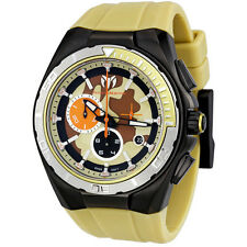 TECHNOMARINE SPORT CHRONOGRAPH DATE SAND CAMOUFLAGE DIAL MEN'S WATCH 110072 NEW