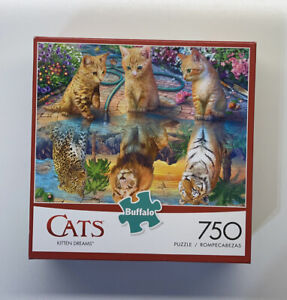 Buffalo Games 750 Piece Puzzle Cats KITTEN DREAMS