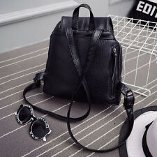 Young Women Backpack Bag Shoulder PU Leather School Girls Handbag Fashion F#