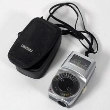 Vintage Retro Sekonic Microlite Meter W/ Case For Parts