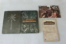 TOTAL WAR WARHAMMER  STEELBOOK PC DVD G1 SIZE STEELBOX + ARTBOOK