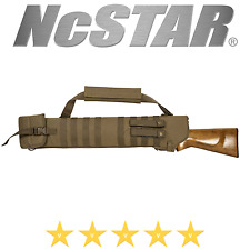 NcStar Vism Shotgun Scabbard Padded MOLLE PVC Airsoft Gun Rifle Case Bag TAN