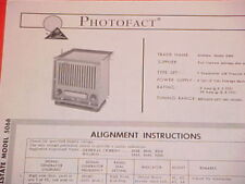1964 SEARS ALLSTATE TRACTOR AM RADIO SERVICE MANUAL 5066 FORD JOHN DEERE OLIVER