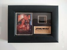 STAR WARS Episode 2 Attack Of The Clones FRAMED FILM CELL 2007