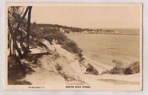 VINTAGE POSTCARD RPPC HAMPTON BEACH, VICTORIA 1900s
