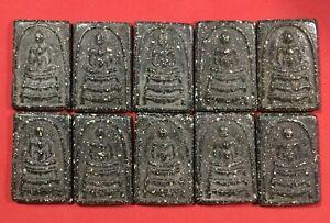 10 pcs.PHRA SOMDEJ TOH WAT RAKUNG Thai Amulet