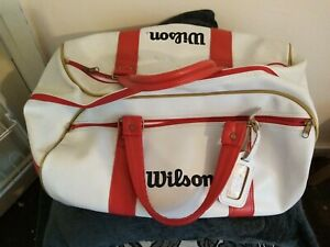Wilson Vintage? Leather? Holdall New