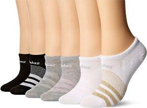 Adidas Womens 248331 Superlite Super No Show 3-Pair Pack Socks Size 5-10