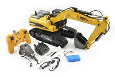 Large 1/14th Scale 23 Channel RC Die-Cast Metal Excavator - Smoke, Sound & Light