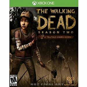 The Walking Dead Season 2 XBOX ONE NEW SEALED DISPATCHING TODAY ORDERS BY 2 P.M.