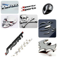 3D Cool Auto Car Rear Styling Bumper Decal Decor Car Sticker Car Accessories New