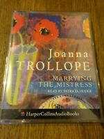 Joanna Trollope  Marrying the Mistress read by P. Hodge   2 Cassette Audio Book