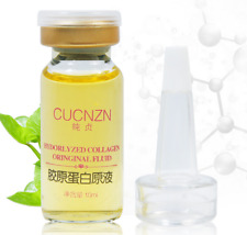 CUCNZN 100% reines hydrolisiertes Collagen Vitamin C Serum Anti Aging Antifalten