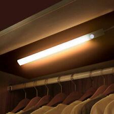 LED Under Cabinet Light PIR Motion Sensor Night Light Bar For Wardrobe Closet