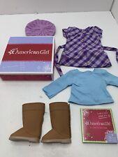 American Girl Pretty In Plaid Dress - MYAG - New In Box