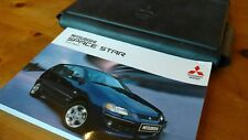 Mitsubishi SPACE STAR 02-06 Owners Manual Handbook wallet