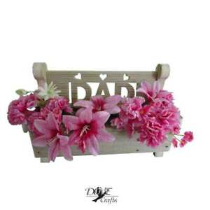 Bench Planter Hand Crafted