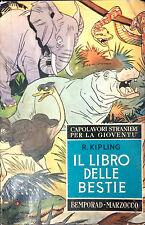 IL LIBRO DELLE BESTIE DI R. KIPLING