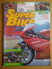 SuperBike Magazine - JULY 1993 - RF600 - ZZR600 - CBR600 - FZR600 - SUPERMONO