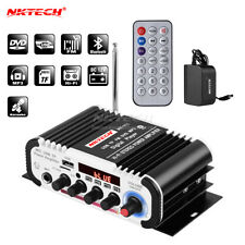 NKTECH HY-V11 Digital Amplificatore Audio Player Bluetooth MIC Karaoke Riverbero