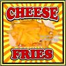 Cheese Fries DECAL (Choose Your Size) S Concession Food Truck Vinyl Sticker
