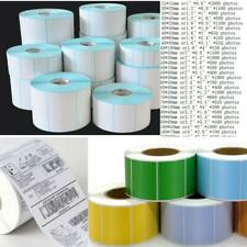 Adhesive Paper Package Label Supplies Blank Tag Thermal Sticker Waterproof Lot