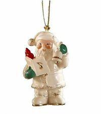 Lenox 2014 Annual Santa Figurine Ornament Holiday Caroling No Date New In Box
