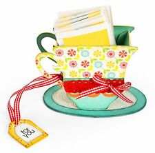 Sizzix Bigz XL 3D Tea Cup die #656549 Retail $39.99 A CRAFTER'S MUST HAVE!!