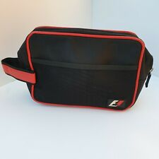 F1 - Men's Black Toiletries Bag With F1 Logo