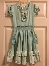 Matilda Jane Friends Forever Bailey Lap Dress Size 8