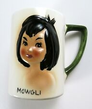 Rare Vintage 1965 Disney Jungle Book Mowgli Ceramic Mug Cup