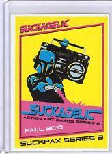 Suckadelic Suckpax Series 2 Promo Card Sidekick Lab Sucklord