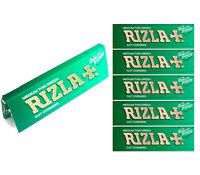 5 10 20 Rizla Green Medium Thin Cigarette Rolling Papers 100% Genuine Rizzla