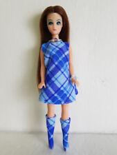 DAWN DOLL CLOTHES Plaid DRESS, BOOTS & JEWELRY HM Fashion NO DOLL dolls4emma