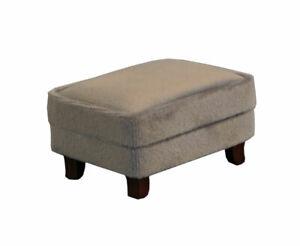 Dolls House Emporium 12th Scale Grey Modern Footstool