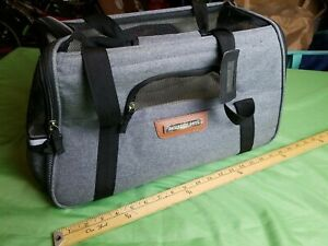 """Pawfect Pets Airline Approved Pet Carrier Soft-Sided 18""""x10""""x10"""" Small Animal"""