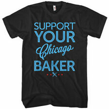 Support Your Chicago Baker T-shirt - Bakery Pastry Chef Pastries Il - Men S-4Xl